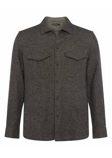 French Connection Brindle Mélange Shirt Jacket