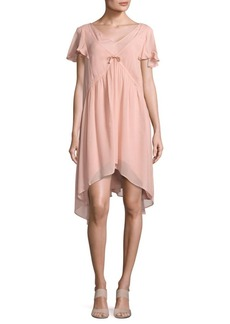 French Connection Brook Pleated Dress