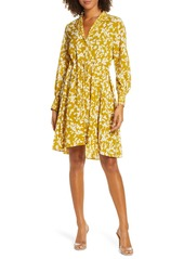 French Connection Bruna Floral Long Sleeve Dress