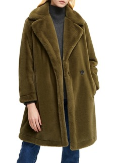French Connection Buona Faux-Fur Coat