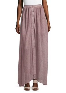 French Connection Buttoned Tulip Maxi Skirt