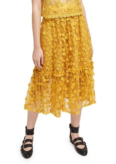 French Connection Caballo Lace Skirt