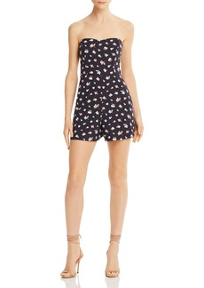 FRENCH CONNECTION Camass Whisper Floral Print Romper