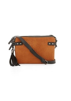 French Connection Camden Crossbody Bag with Suede Tassel
