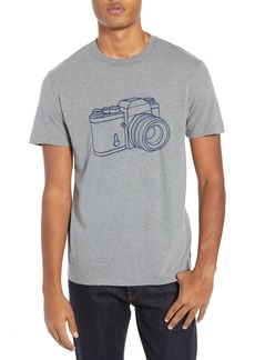 French Connection Camera Slim Fit Cotton T-Shirt