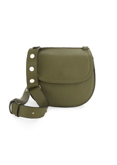 French Connection Celia Faux Leather Saddle Bag