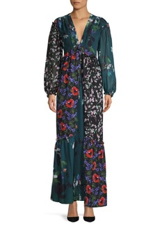 Celia Mix Maxi Dress