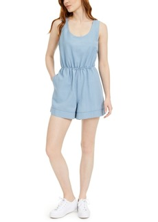 French Connection Chambray Romper