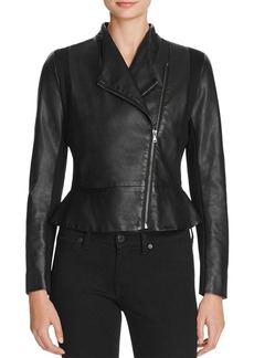 FRENCH CONNECTION Chariot Faux-Leather Jacket