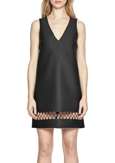 French Connection Clara Eight Scuba Shift Dress