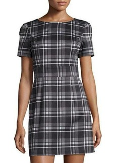 French Connection Clarence Check-Print Dress