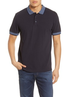 French Connection Classic Oxford Slim Fit Polo Shirt