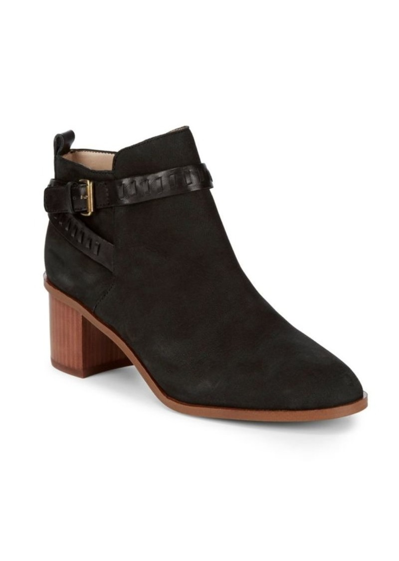 French Connection Claudia Leather Booties