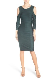 French Connection Cold Shoulder Bandage Dress
