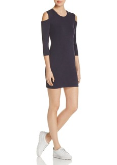 FRENCH CONNECTION Cold-Shoulder Jersey Dress