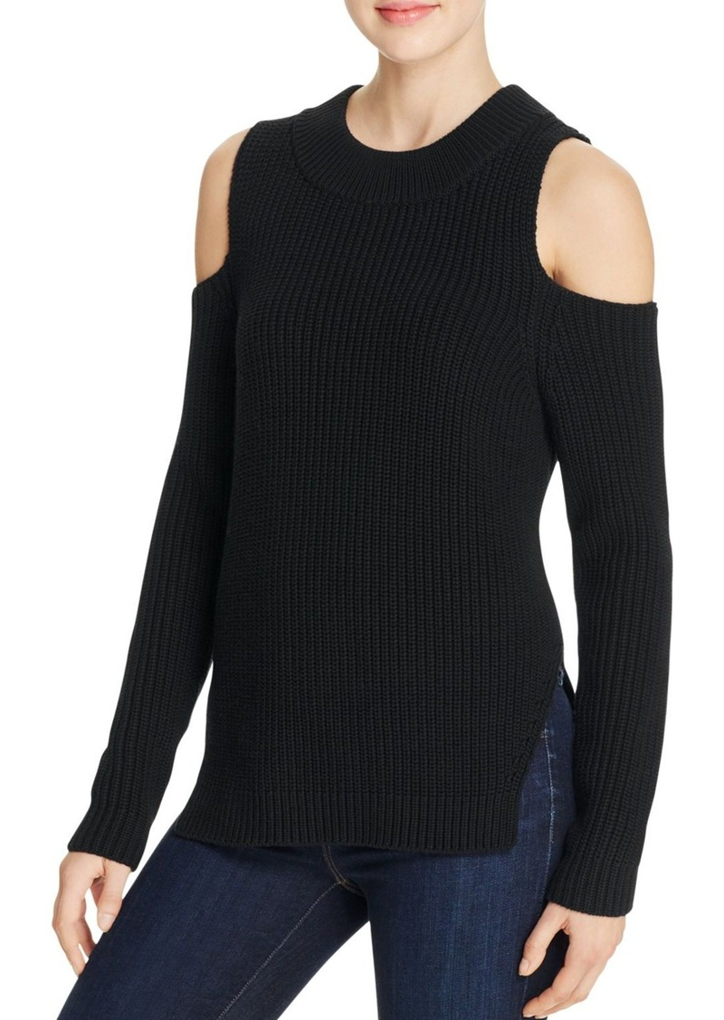 FRENCH CONNECTION Cold-Shoulder Sweater