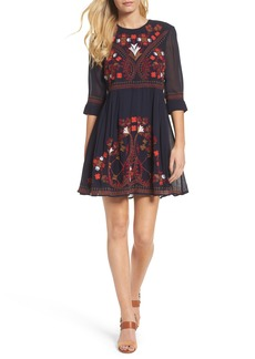French Connection Colorful Kiko Babydoll Dress