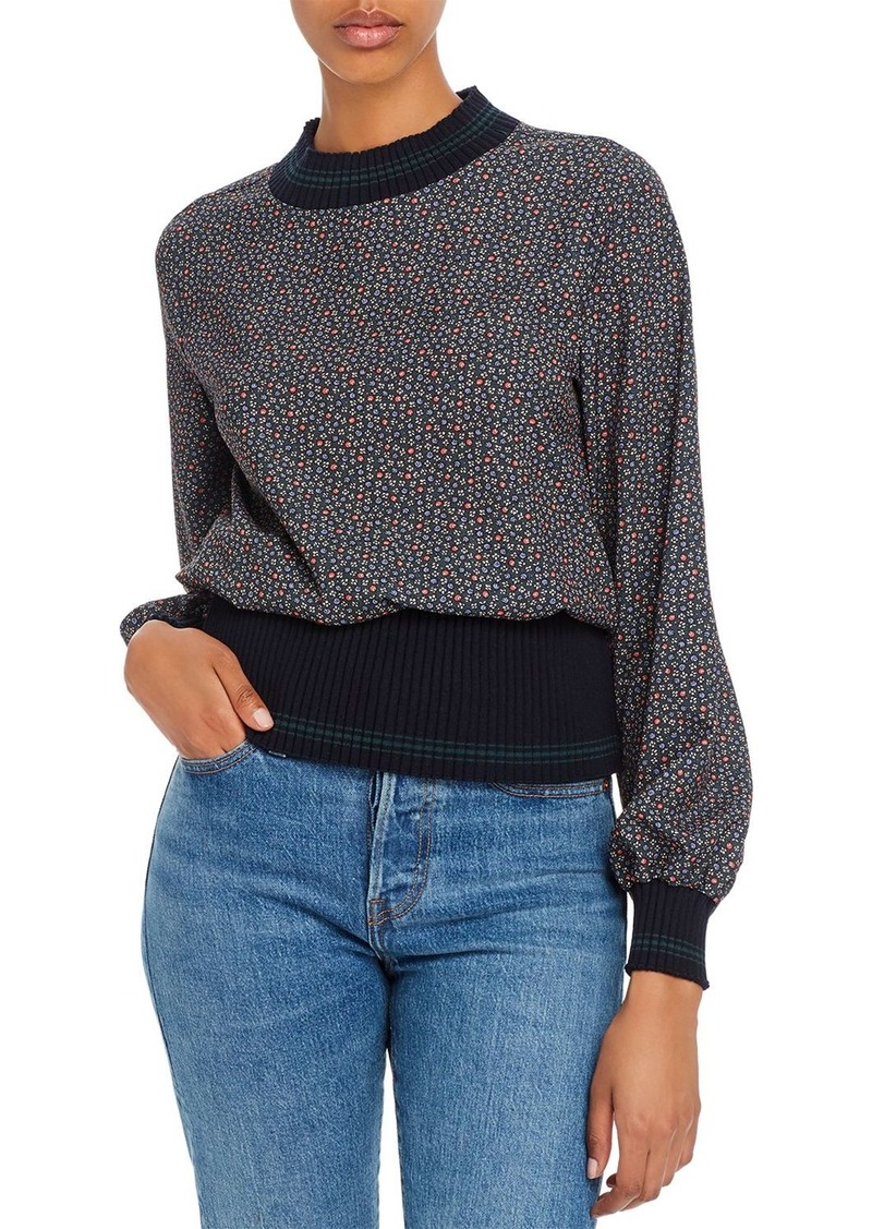 FRENCH CONNECTION Cosimo Mahi Floral-Print Top