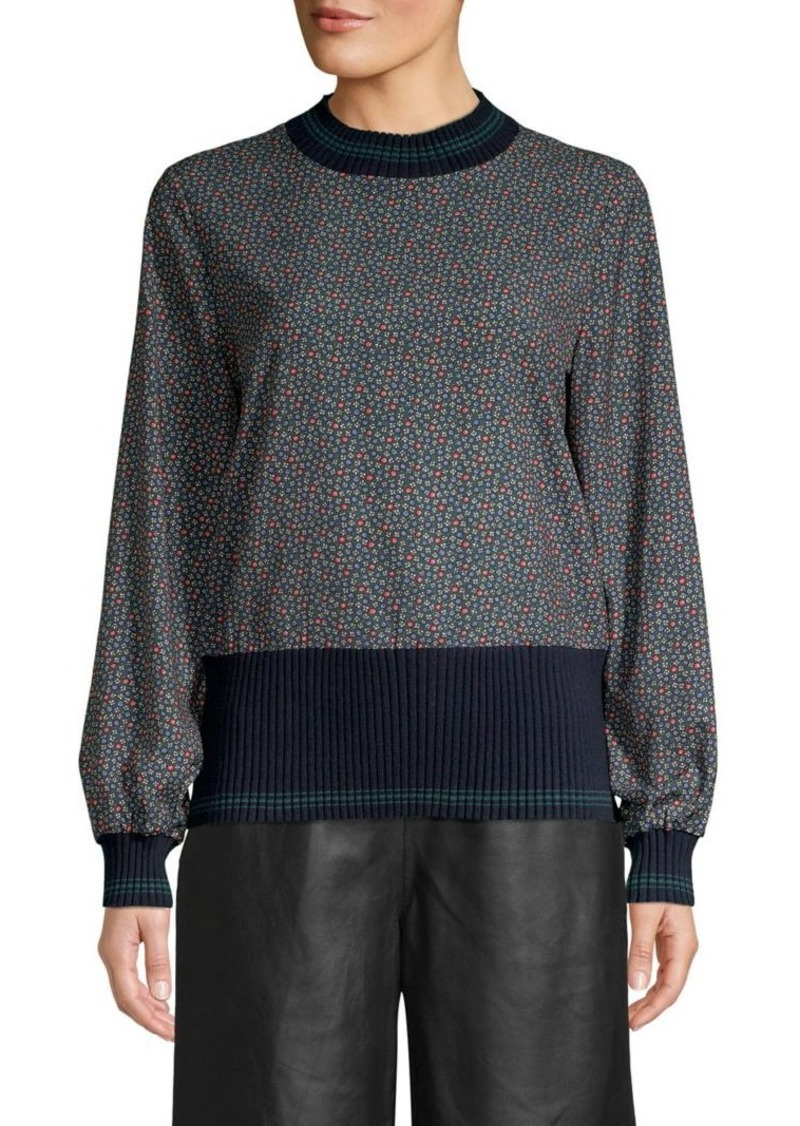 French Connection Cosimo Mahi Printed Top