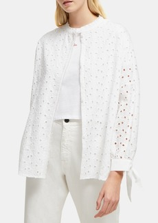 French Connection Cotton Bodi Embroidered Shirt