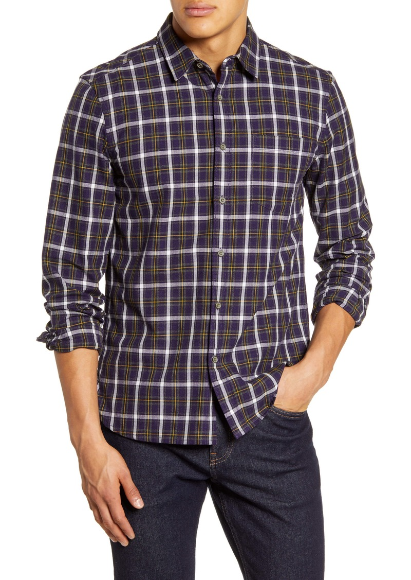 French Connection Country Plaid Regular Fit Shirt
