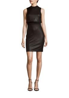 French Connection Crewneck Sleeveless Dress