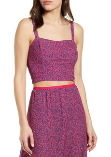 French Connection Crop Tank Top