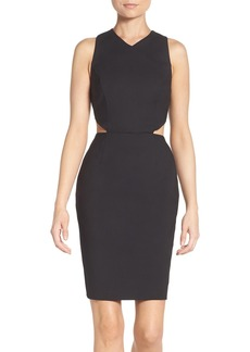 French Connection Cutout Sheath Dress