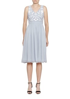Dalia Beaded A-LineDress