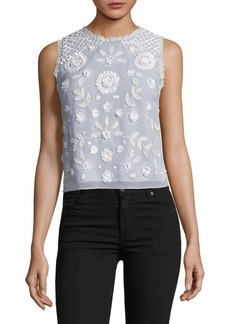 French Connection Dalia Embellished Top