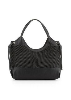 French Connection Dallas Woven Tote Bag