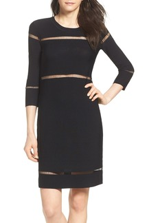 French Connection Danni Ladder Knit Dress