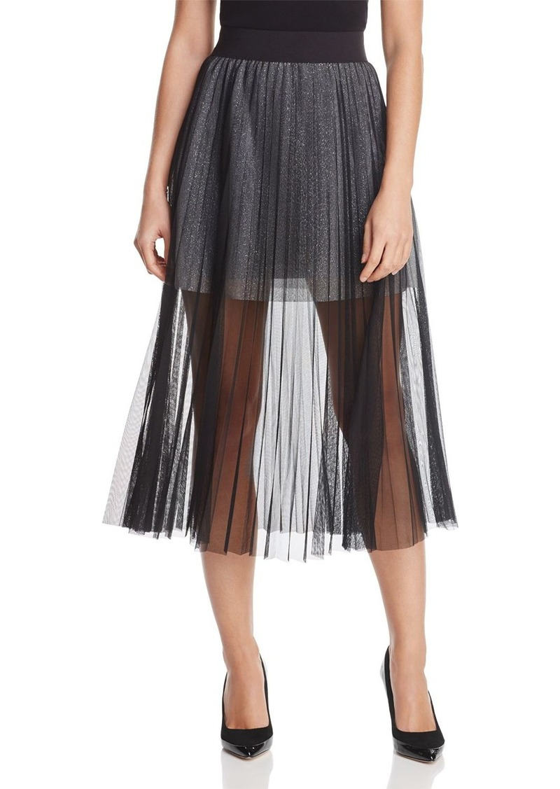 9f5584fa33 French Connection FRENCH CONNECTION Daphne Illusion Midi Skirt