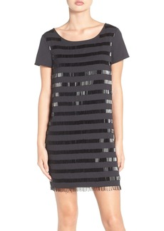 French Connection Della Beaded Shift Dress
