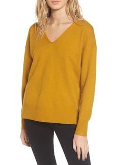 French Connection Della Vhari V-Neck Sweater