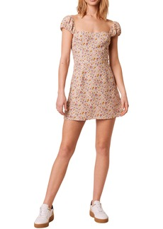 French Connection Delmira Verona Ditsy Floral Minidress
