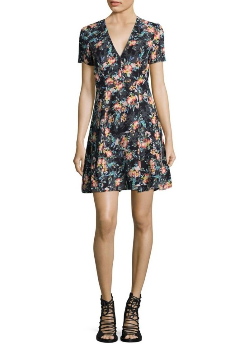 French Connection Delphine Floral Dress