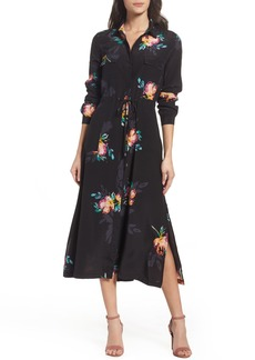 French Connection Delphine Midi Shirtdress