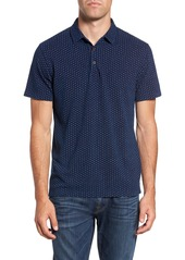 French Connection Dojo Dot Regular Fit Cotton Polo