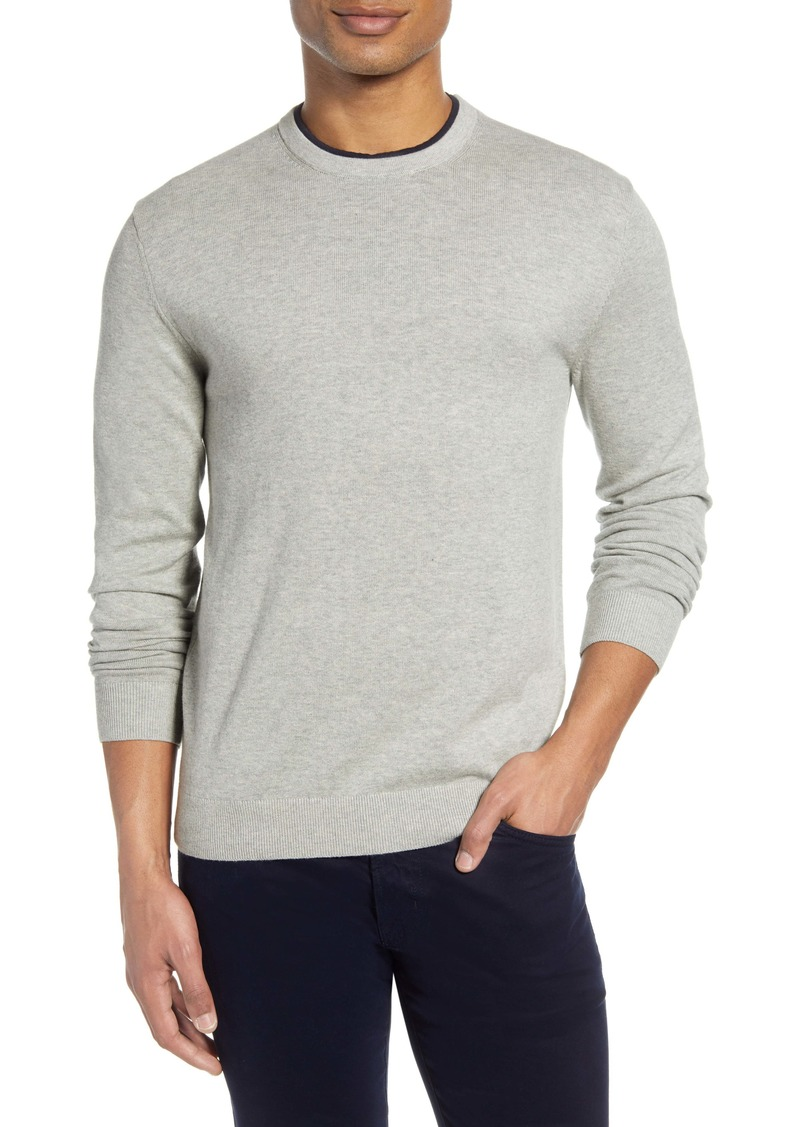 French Connection Double Crewneck Sweater