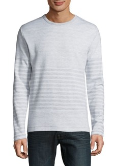 French Connection Double Face Long Sleeve Top