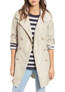 French Connection Drape Back Trench Coat