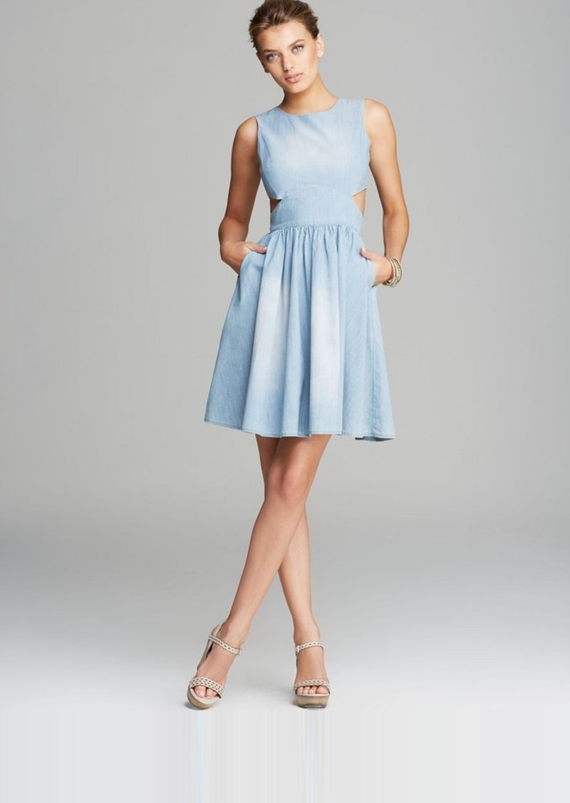 FRENCH CONNECTION Dress - Blue Ash Denim