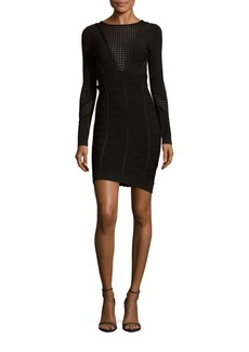 French Connection Duo Danni Knit Bandage Dress
