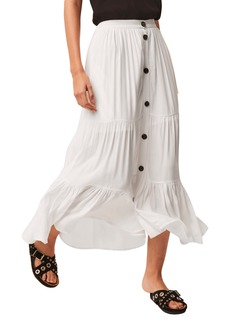 French Connection Easha Drape Maxi Skirt