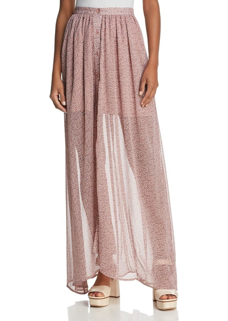 86944d50963d French Connection FRENCH CONNECTION Elao Sheer Maxi Skirt