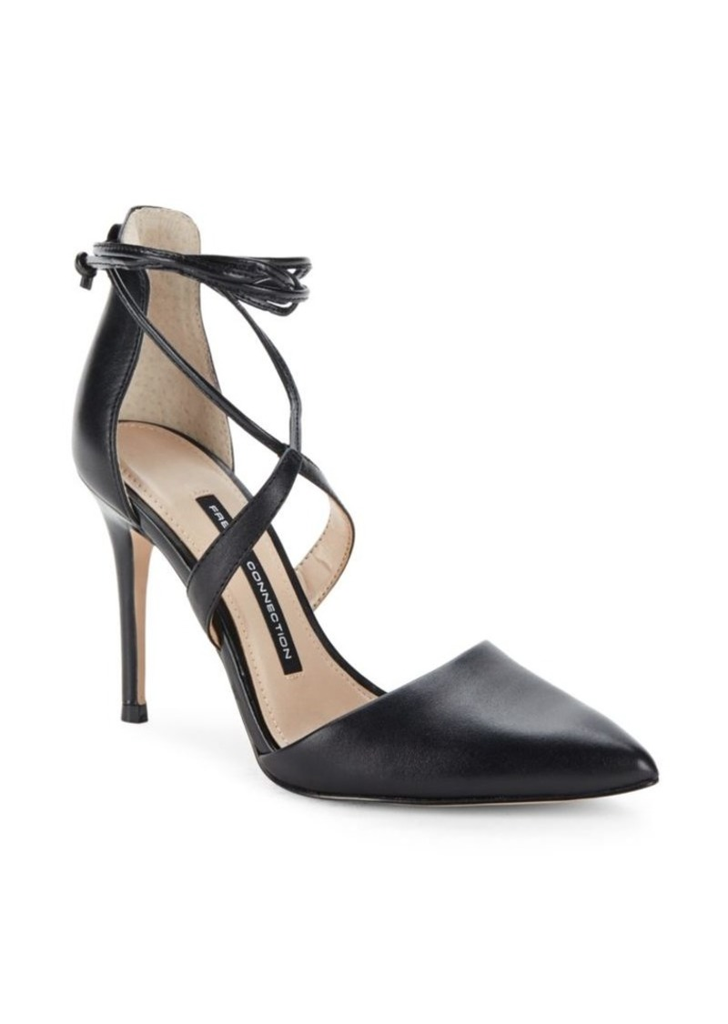 French Connection Elise Strappy Point Toe Pumps