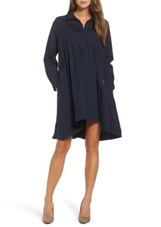 French Connection Ellesmere Drape Shirtdress