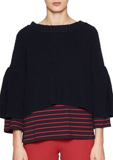 French Connection Ellie Waffle Knit Sweater