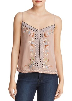 FRENCH CONNECTION Embroidered Cami - 100% Exclusive